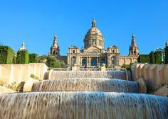 Les fontaines magiques Montjuic