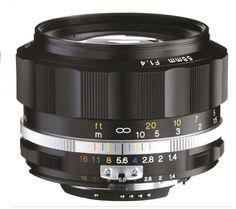 Voigtlander 58mm f1.4 SLIIS AIS Black