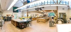Woodshop, what an amazing space
