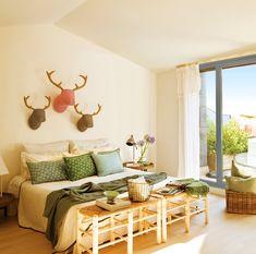 8 claves para un dormitorio más personal y acogedor · ElMueble.com · Dormitorios