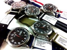 Timex x Maiden noir / Military Watch/PRICE : 16,590yen (TAX IN)
