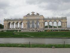 The Great Parterre behind Schönbrunn Palace
