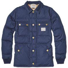 Neighborhood HD Shirt Jacket (Navy)