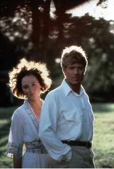 Meryl Streep/Robert Redford....  Out of Africa