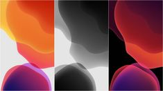 If you saw Apple's WWDC event where they showed off iOS 13 and took a liking to its stock wallpapers, then you're in luck. These wallpapers have been extracted Ios 11 Wallpaper, Bubbles Wallpaper, Wallpaper Iphone Disney, Android One, High Quality Wallpapers, New Iphone, Banner Design, Abstract, Gadget