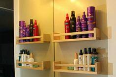 Kruidenkastje voor je badkamer spulletjes