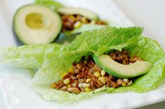 I made these Vegetarian Lettuce Wraps today & they're so good!