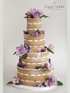 October Naked Victoria | Wedding Cakes