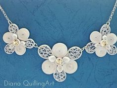 Quilling examples - Jewelry / Necklace