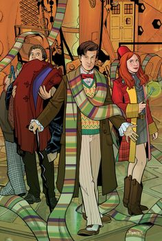 Doctor Who #1 Cover by KellyYates on @DeviantArt