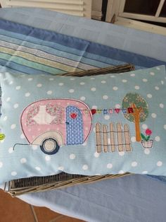 Retrocamper Caravan pillow
