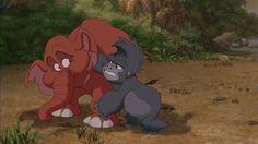 22 Top Tantor Images Cartoon Cartoons Tarzan Disney