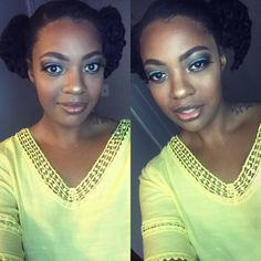#LatePost my face was BEAT yesterday by @q_glam. I LOVED it so much I cried
