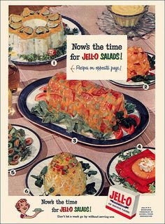 Intriguing Jello salads…