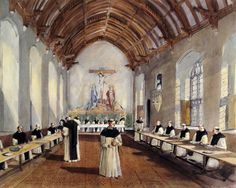 Cleeve Abbey   English Heritage This is a  reconstruction of the Refectory. The roof is still the original