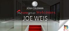 The Josh Coleman Group welcomes #JoeWeisRealtor to our team! #JoshColemanRealtor #JoshColemanGroup #MyHomeGroup
