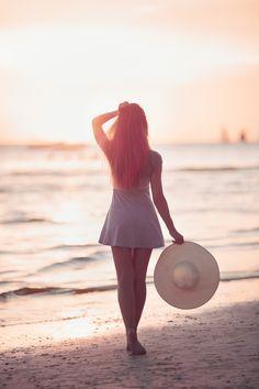 Photo Girl on the beach by Vasily Makarov on 500px