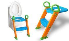 Groupon - Portable Potty Training Ladder Step Seat. Groupon deal price: $21.99