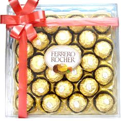 ferrero rocher   my mom/dad and I love this.  my mom love getting this but my dad and I sometime take one
