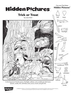 Art Activities For Kids, Kindergarten Activities, Childrens Word Search, Highlights Hidden Pictures, Hidden Pictures Printables, Hidden Picture Puzzles, Bell Pictures, Hidden Objects, Picture Story