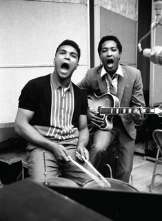""" Sam Cooke and Muhammad Ali, 1960s """