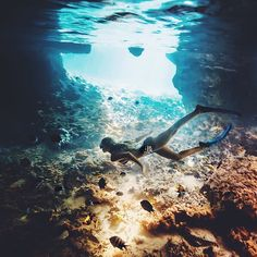 live a life under the sea Oh The Places You'll Go, Places To Visit, Pesca Sub, Voyager C'est Vivre, Parkour, Underwater Photography, Adventure Is Out There, Under The Sea, Beautiful World