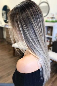 Stylish balayage ombre long hairstyle for women, long hair .- Stilvolle Balayage Ombre lange Frisur für Frauen, lange Frisur Designs – Stylish balayage ombre long hairstyle for women, long hairstyle designs – - Haircut Styles, Haircut Designs, Brown Blonde Hair, Silver Blonde, Ash Blonde Highlights On Dark Hair, Balayage On Straight Hair, Dark To Blonde Balayage, Ash Ombre Hair, Straight Ponytail