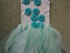 Flower Fairy Tutu & Top - what little girl doesn't like to dress up! Toddler Tutu, Girl Toddler, Little Ones, Little Girls, No Sew Tutu, Tea Party, Dress Up, Fairy, Flower Girl Dresses