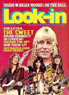 Look-in magazine covers | Retronaut  Use to buy this weekly , loved it