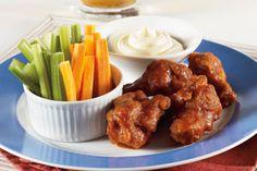 Alitas de pollo en salsa picante estilo Buffalo | Sabores en Linea