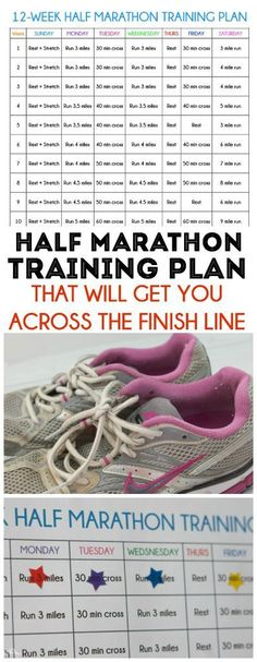 This half marathon training plan is perfect for your first or even 10th marathon.
