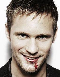 True Blood's Eric Northman, aka Alexander Skarsgard.
