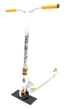 District Custom Limited Edition Complete Pro Scooter White/Yellow