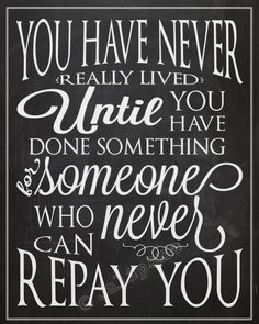 You Have Never Really Lived  Thank You Gift INSTANT by Jalipeno, $4.97
