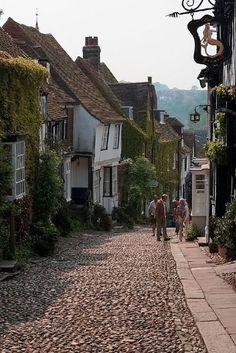 Mermaid Street, Rye, East Sussex, England