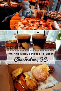 Searching for fun places to eat in Charleston, South Carolina? We highlight four unique and delicious restaurants that will have you drooling! Read on to see what makes these hidden gems in Charleston so special. #Charleston #SouthCarolina #Food via @BuddyTTMonkey