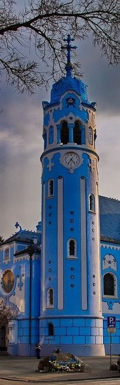 St Elizabeth church (als called Blue church), Bratislava, Slovakia. Cathedral Architecture, Amazing Architecture, Europe Centrale, Danube River Cruise, Bratislava Slovakia, Les Religions, Cathedral Church, Carl Sagan, Central Europe