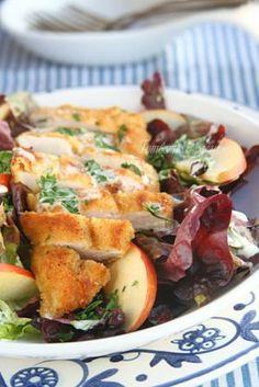 Хрупкава пилешка салата