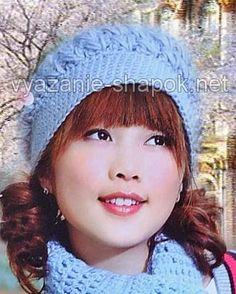 зимняя шапка берет