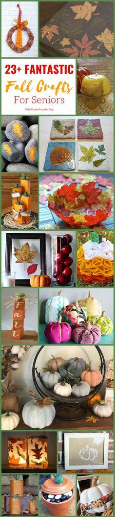 23+ Fantastic Fall Crafts For Seniors