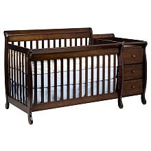 Found it at Toys R Us - DaVinci Kalani 4-in-1 Crib and Changer with Toddler Rail - Espresso