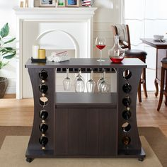 If you love to save money, then you'll love the price on this mercury row coghill 12 bottle wine bar! Corner Bar Cabinet, Wine Bar Cabinet, Wine Cabinets, Bar Interior, Interior Decorating, Wine Storage, Bar Furniture, Bar Stools, House Design