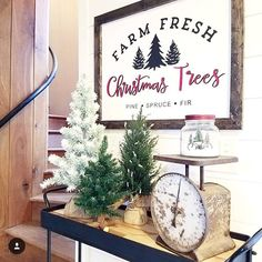 12 Handmade Wood Christmas Signs You Can Buy From Etsy DIY Wood Signs Buy Christmas etsy handmade Signs Wood Fresh Cut Christmas Trees, Christmas Tree Design, Christmas Tree Farm, Farmhouse Christmas Decor, Country Christmas, All Things Christmas, Handmade Christmas, White Christmas, Christmas Holidays