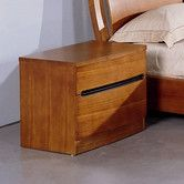 Found it at AllModern - Maya 2 Drawer Nightstand
