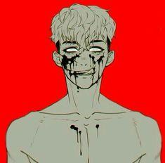 Is just a little game. Manga Art, Anime Art, Sangwoo Killing Stalking, Ero Guro, Killing Me Softly, Fanart, Dark Anime, Shounen Ai, Boy Art