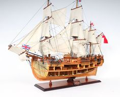 HMS Endeavour Open Hull 37""