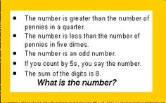 Number Riddle Puzzles