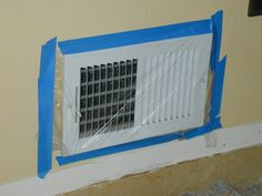 Headslap! Cover your vents when removing tile flooring.
