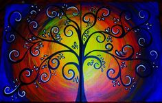 tree of life painting - Google Search