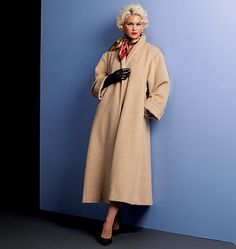 I'm going to be making this coat in fabulous faux leopard fur. Meow!
